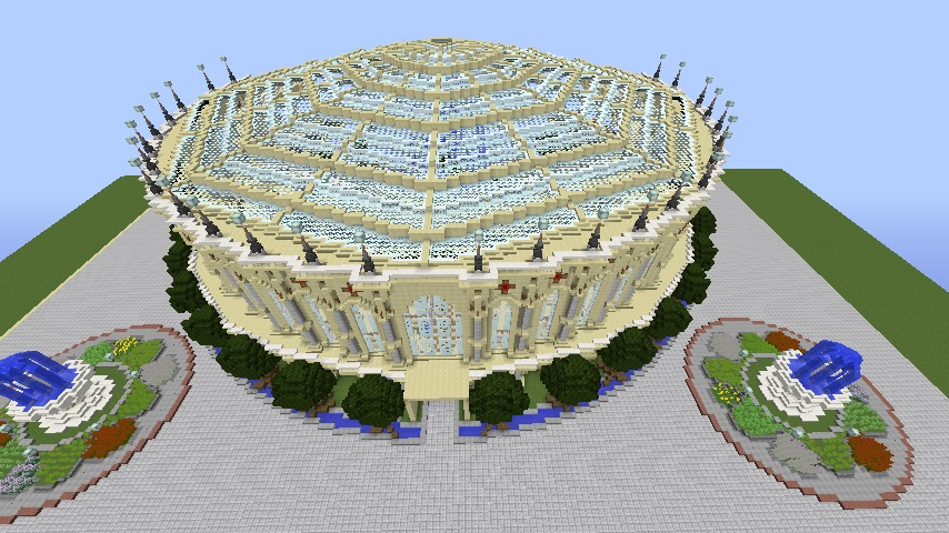 Minecrafterししゃもがマインクラフトで建築依頼を受けたビギナーズホールを建築する10