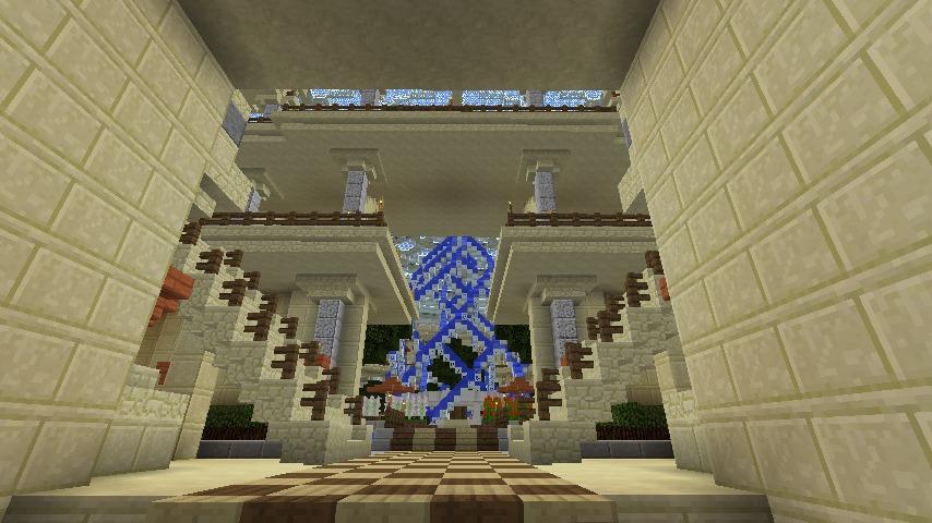 Minecrafterししゃもがマインクラフトで建築依頼を受けたビギナーズホールを建築する12