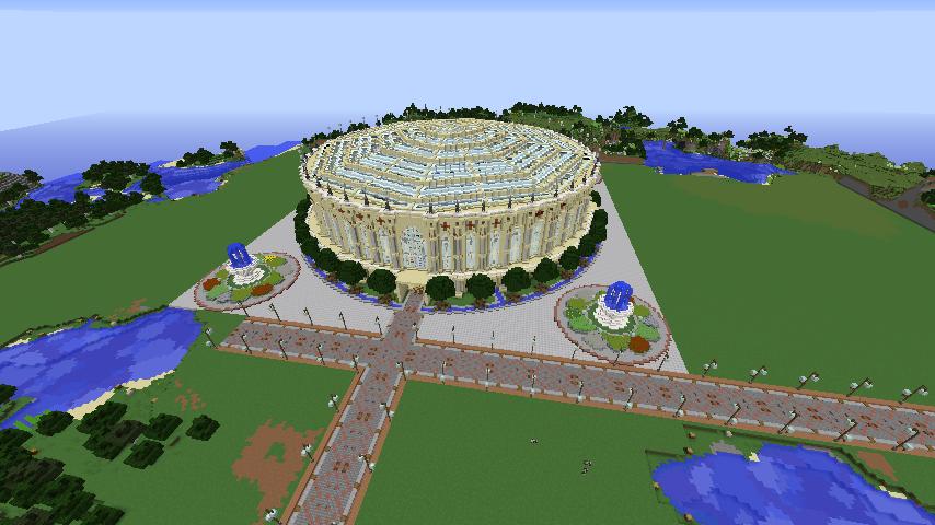 Minecrafterししゃもがマインクラフトで建築依頼を受けたビギナーズホールを建築する20