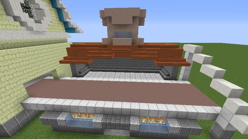 Minecrafterししゃもがマインクラフトでぷっこ村にポークフランク工場を建築する6