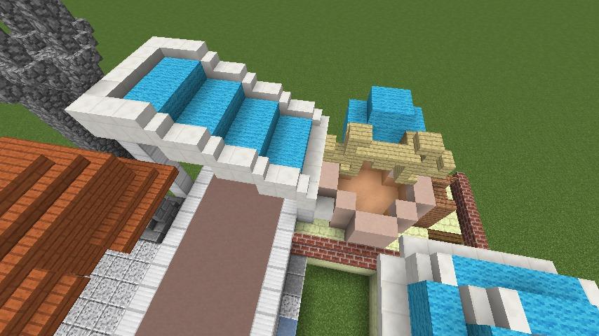 Minecrafterししゃもがマインクラフトでぷっこ村にポークフランク工場を建築する8