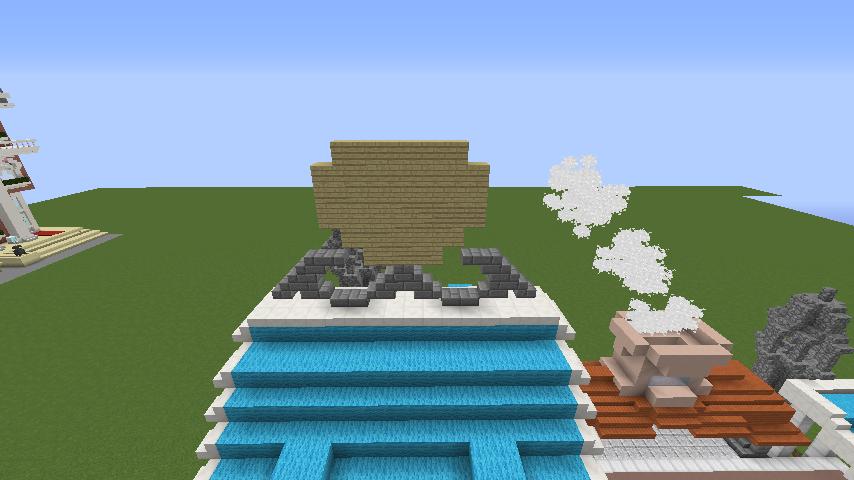 Minecrafterししゃもがマインクラフトでぷっこ村にポークフランク工場を建築する11