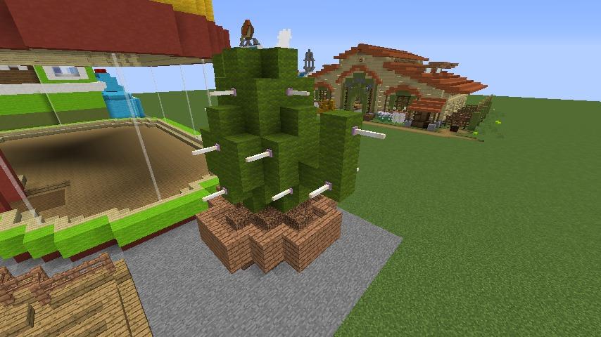 Minecrafterししゃもがマインクラフトでぷっこ村にポークレストランを作る6
