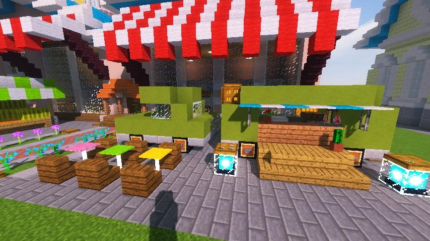 Minecrafterししゃもがマインクラフトでぷっこ村にポークフランクの直売所を作ってみる8