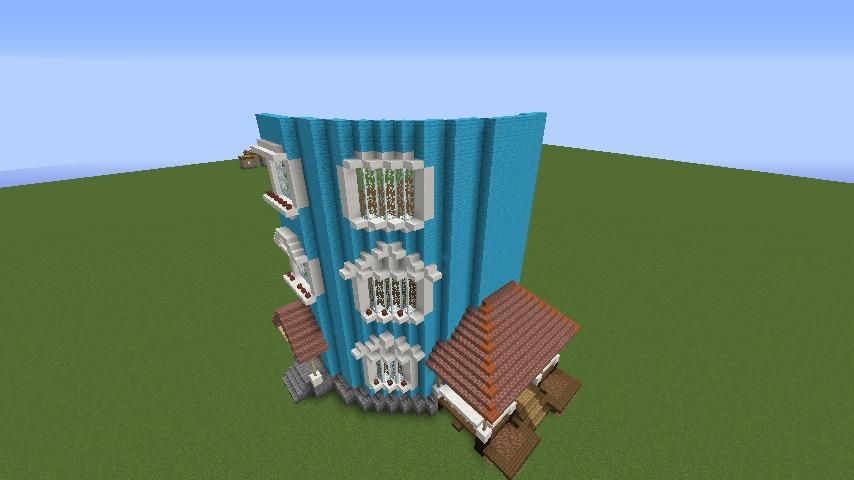 ムーミンの家を建築してみる3
