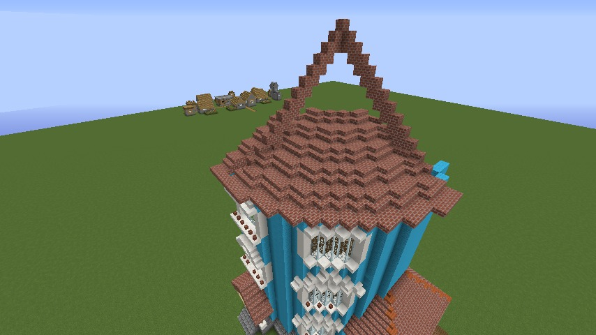 ムーミンの家を建築してみる4