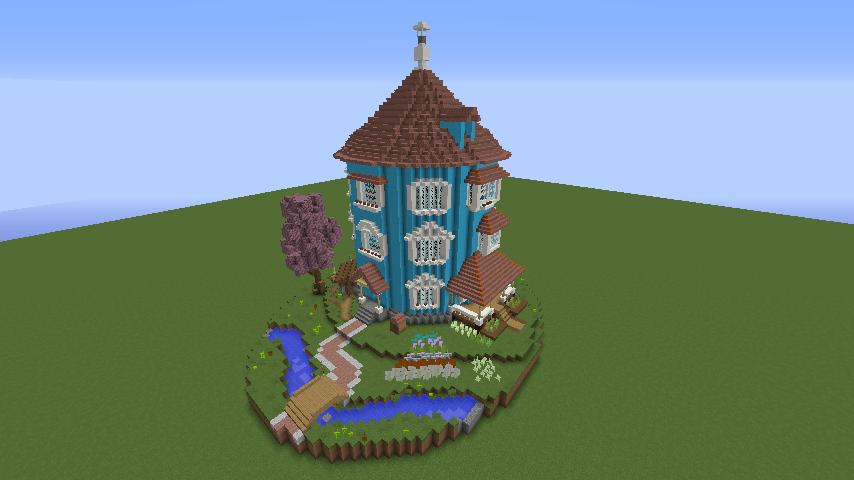 ムーミンの家を建築してみる5
