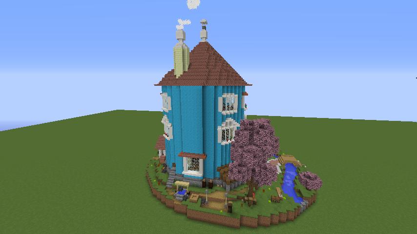 ムーミンの家を建築してみる9