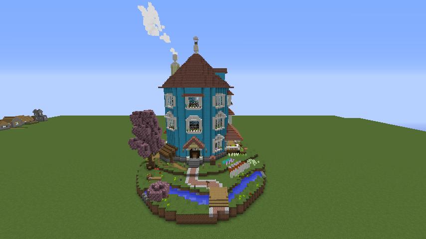 ムーミンの家を建築してみる6