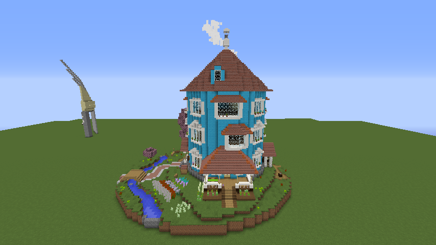 ムーミンの家を建築してみる7