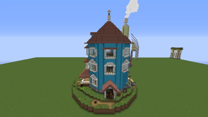 ムーミンの家を建築してみる8