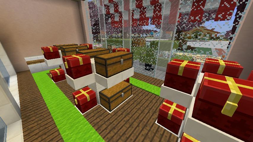 Minecrafterししゃもがマインクラフトでぷっこ村にポークフランクの直売所を作ってみる6