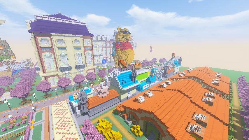 Minecrafterししゃもがマインクラフトでぷっこ村にポークフランク工場とかを建築する5