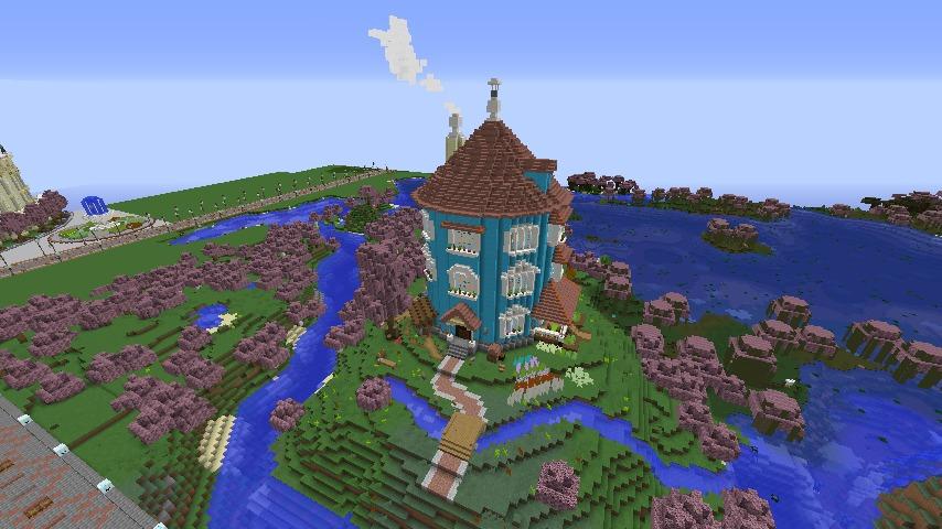 ムーミンの家を建築してみる11