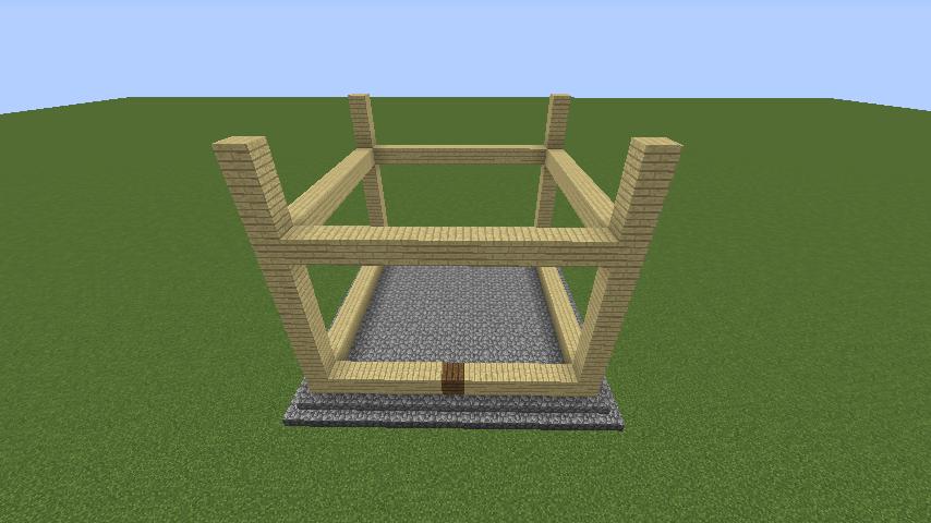 Minecrafterししゃもがマインクラフトでぷっこ村にフィリフヨンカの家を建築する1