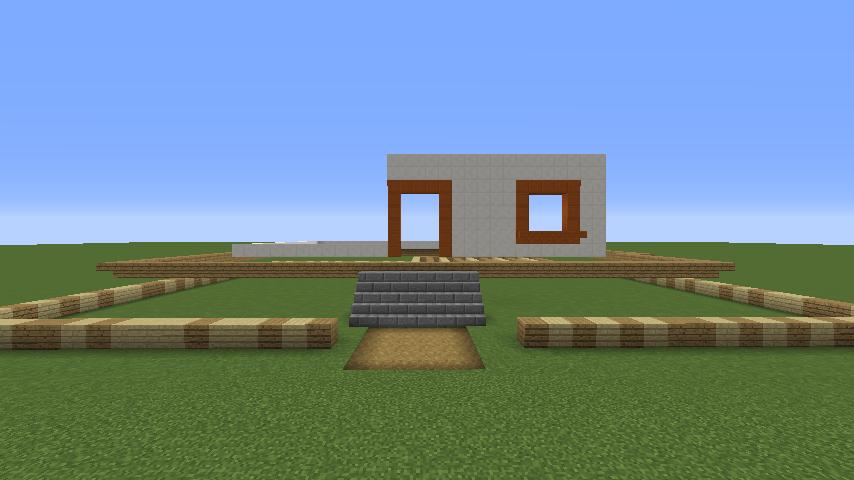 Minecrafterししゃもがマインクラフトでぷっこ村にフィリフヨンカの家を建築する2