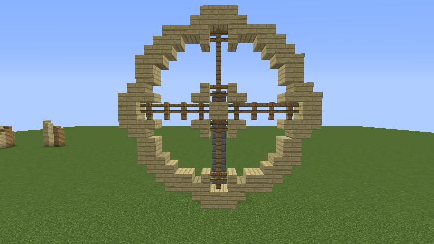 Minecrafterししゃもがマインクラフトでぷっこ村にムーミン谷にありそうな水車小屋を建築する1