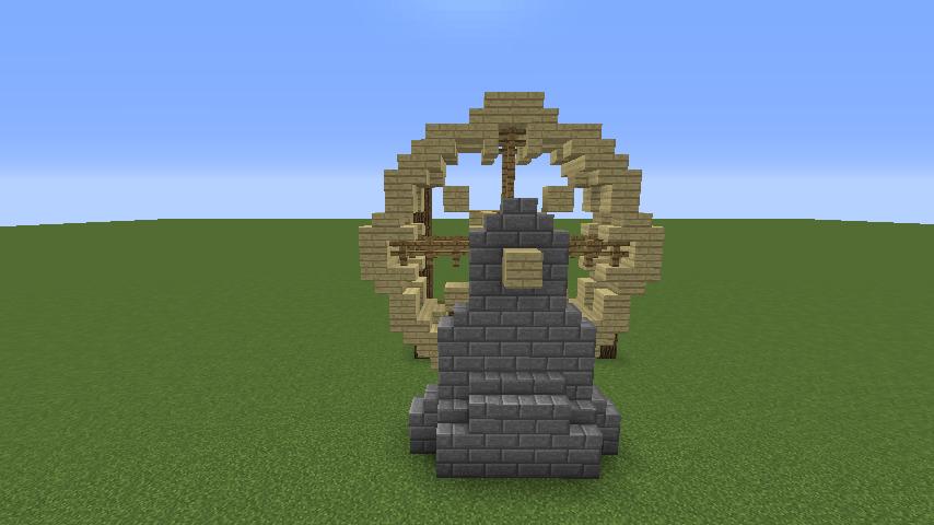 Minecrafterししゃもがマインクラフトでぷっこ村にムーミン谷にありそうな水車小屋を建築する2