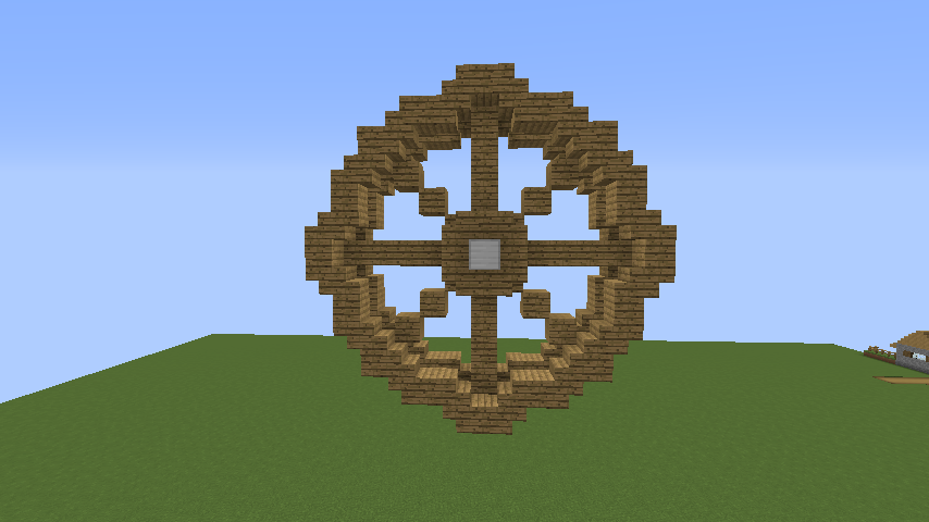 Minecrafterししゃもがマインクラフトでぷっこ村に海のオーケストラ号を建築するよ1
