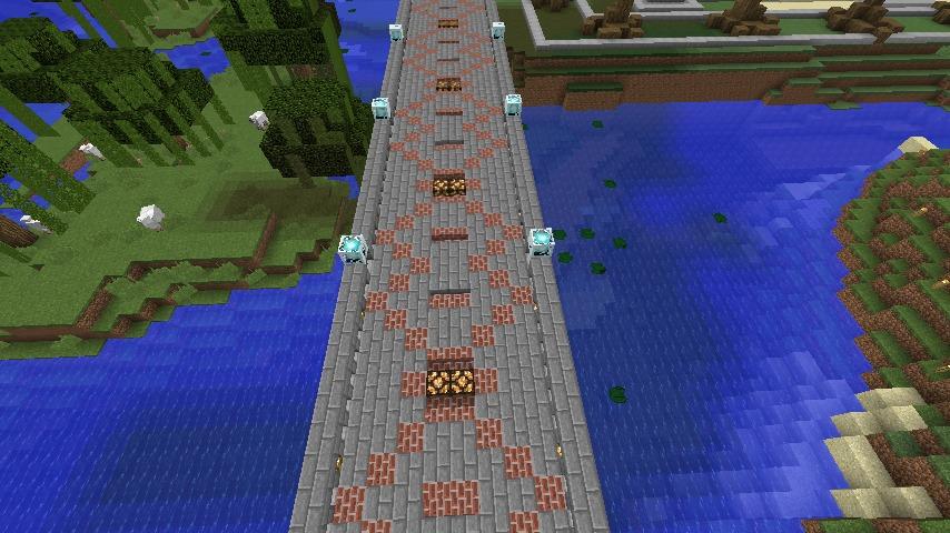 Minecrafterししゃもがマインクラフトでぷっこ村にある橋のダサすぎ問題を考えてみる3