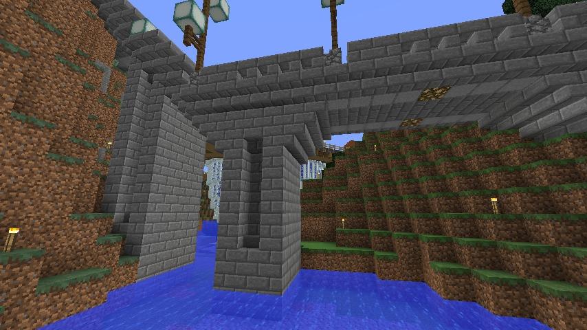 Minecrafterししゃもがマインクラフトでぷっこ村にある橋のダサすぎ問題を考えてみる5