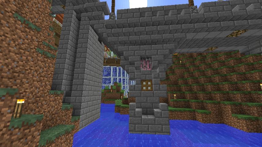 Minecrafterししゃもがマインクラフトでぷっこ村にある橋のダサすぎ問題を考えてみる8