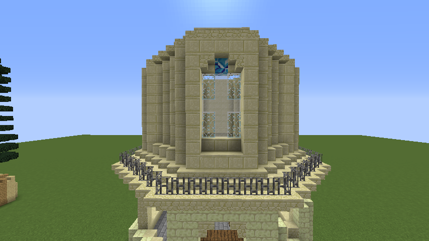 Minecrafterししゃもがマインクラフトでぷっこ村にソーダ―シャール灯台を建築してみる4