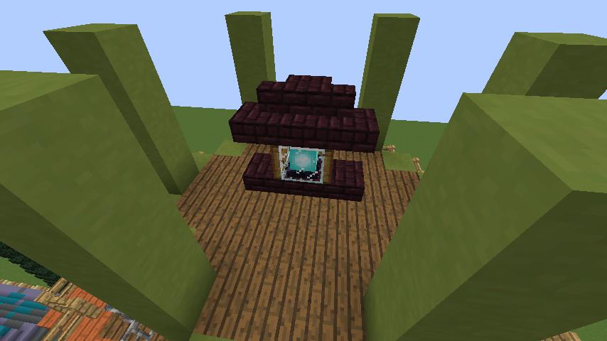 Minecrafterししゃもがマインクラフトでぷっこ村にソーダ―シャール灯台を建築してみる6