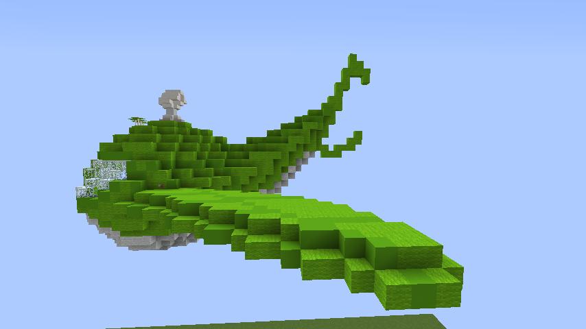 Minecrafterししゃもがマインクラフトでぷっこ村に新・海のオーケストラ号を作る5