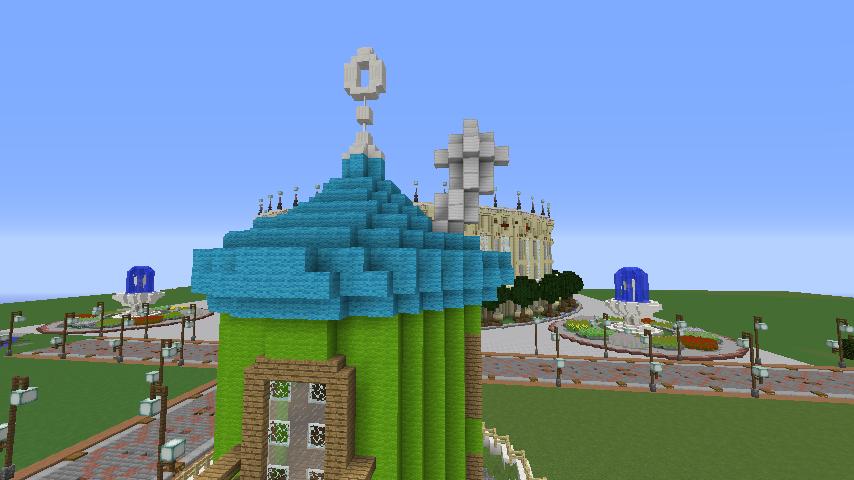 Minecrafterししゃもがマインクラフトでぷっこ村に小さなヘムルの家を建築してみる6