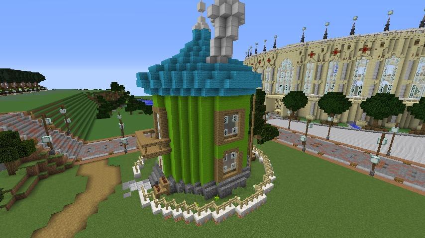 Minecrafterししゃもがマインクラフトでぷっこ村に小さなヘムルの家を建築してみる5