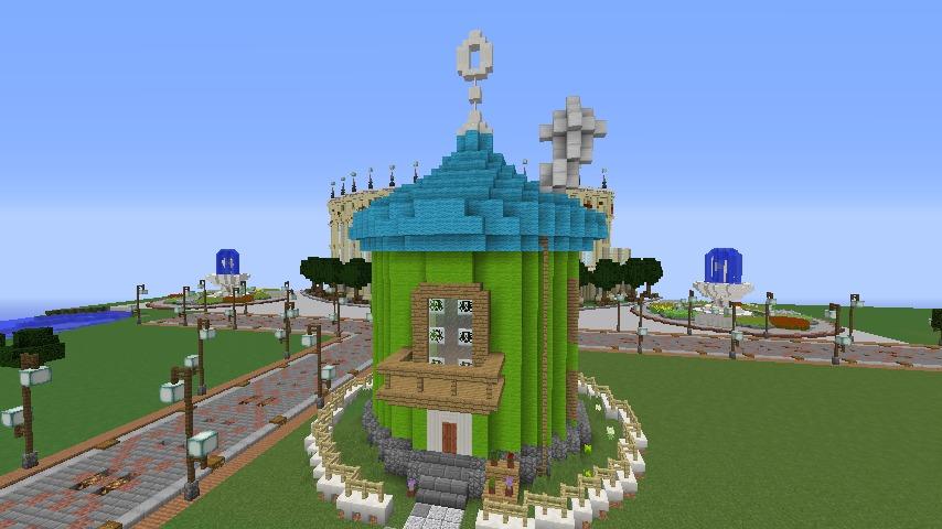 Minecrafterししゃもがマインクラフトでぷっこ村に小さなヘムルの家を建築してみる4