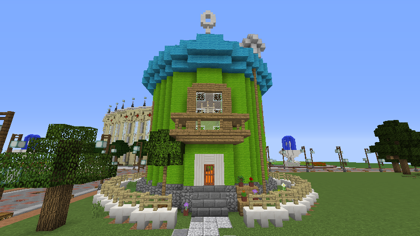 Minecrafterししゃもがマインクラフトでぷっこ村に小さなヘムルの家を建築してみる7