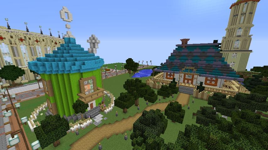 Minecrafterししゃもがマインクラフトでぷっこ村に小さなヘムルの家を建築してみる15