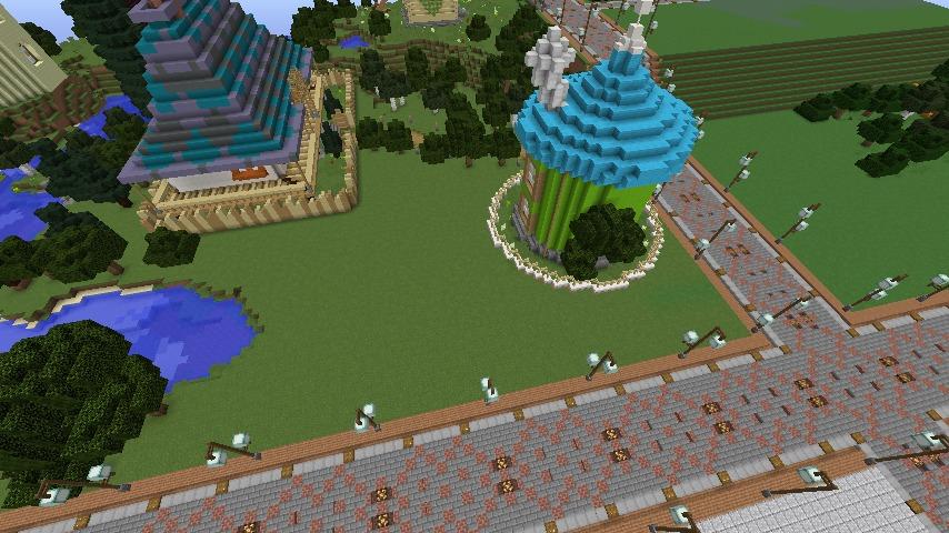 Minecrafterししゃもがマインクラフトでぷっこ村に植物学者のヘムレンさんの家を建築する1