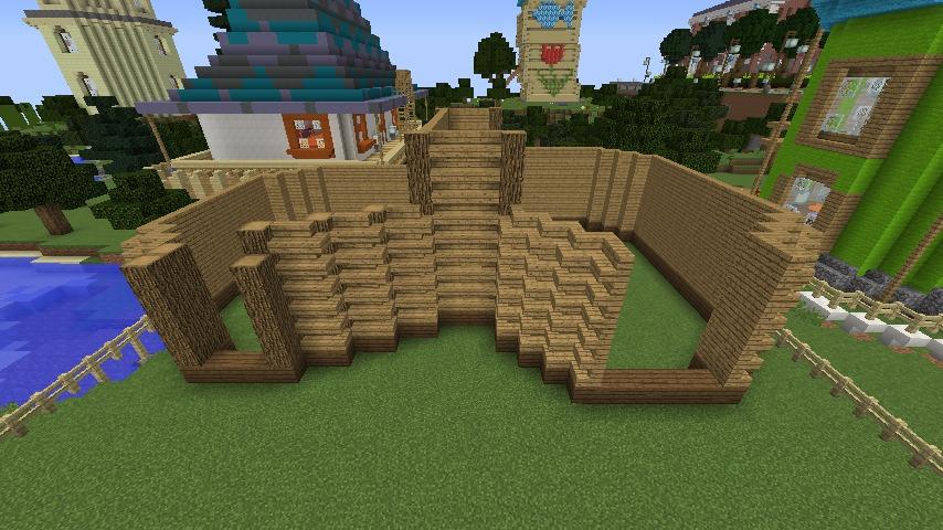 Minecrafterししゃもがマインクラフトでぷっこ村に植物学者のヘムレンさんの家を建築する3