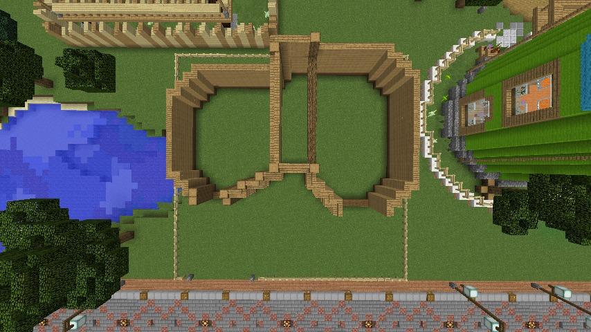 Minecrafterししゃもがマインクラフトでぷっこ村に植物学者のヘムレンさんの家を建築する2