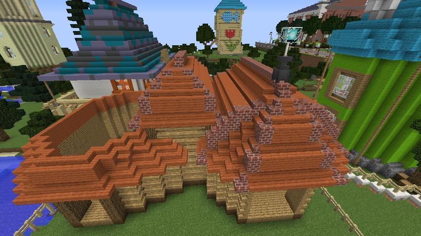 Minecrafterししゃもがマインクラフトでぷっこ村に植物学者のヘムレンさんの家を建築する4