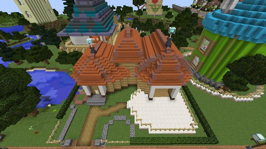 Minecrafterししゃもがマインクラフトでぷっこ村に植物学者のヘムレンさんの家を建築する5