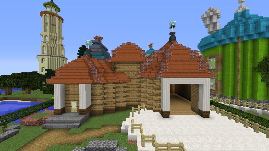 Minecrafterししゃもがマインクラフトでぷっこ村に植物学者のヘムレンさんの家を建築する6