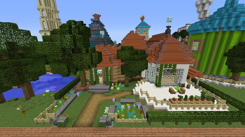 Minecrafterししゃもがマインクラフトでぷっこ村に植物学者のヘムレンさんの家を建築する8
