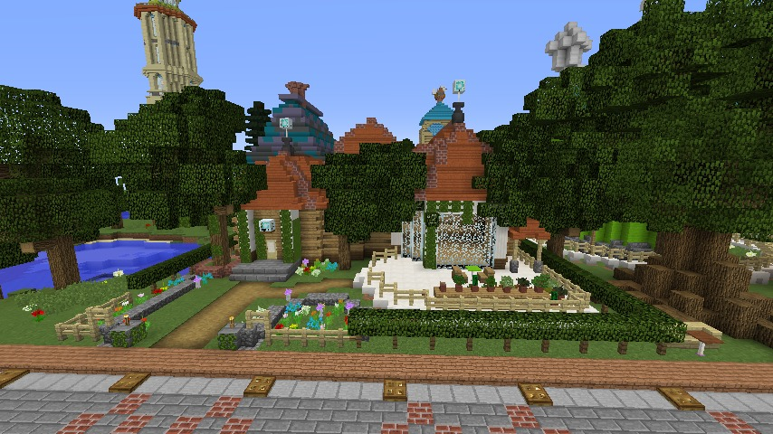 Minecrafterししゃもがマインクラフトでぷっこ村に植物学者のヘムレンさんの家を建築する9