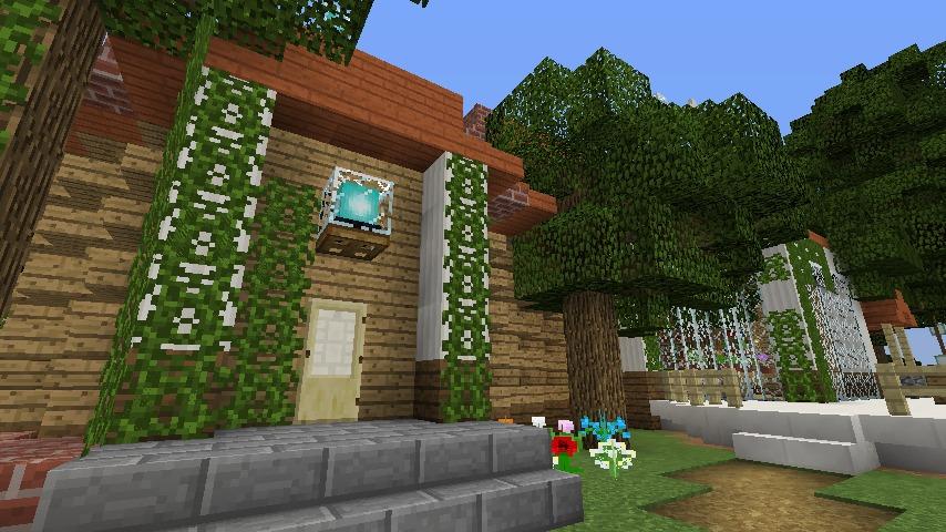Minecrafterししゃもがマインクラフトでぷっこ村に植物学者のヘムレンさんの家を建築する10