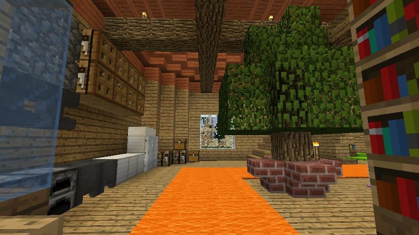Minecrafterししゃもがマインクラフトでぷっこ村に植物学者のヘムレンさんの家を建築する11