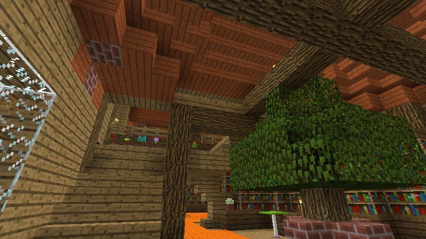 Minecrafterししゃもがマインクラフトでぷっこ村に植物学者のヘムレンさんの家を建築する12
