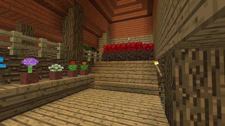 Minecrafterししゃもがマインクラフトでぷっこ村に植物学者のヘムレンさんの家を建築する13