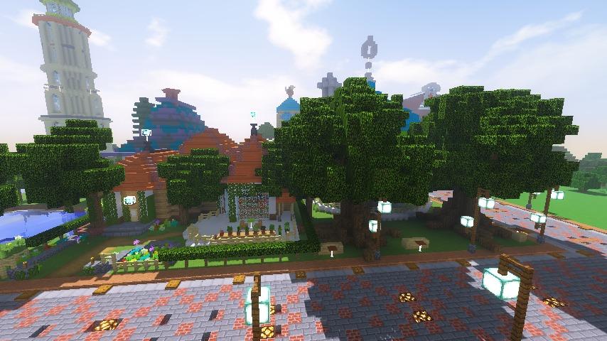 Minecrafterししゃもがマインクラフトでぷっこ村に植物学者のヘムレンさんの家を建築する19