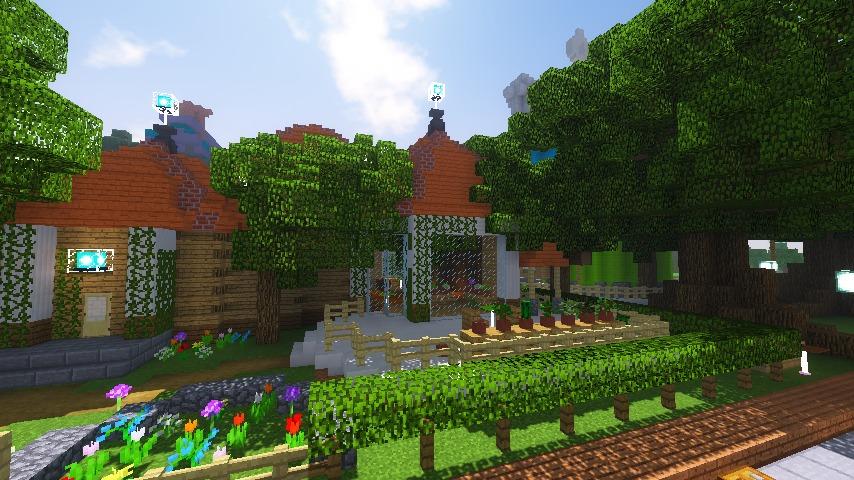 Minecrafterししゃもがマインクラフトでぷっこ村に植物学者のヘムレンさんの家を建築する18