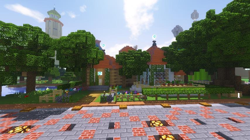 Minecrafterししゃもがマインクラフトでぷっこ村に植物学者のヘムレンさんの家を建築する17