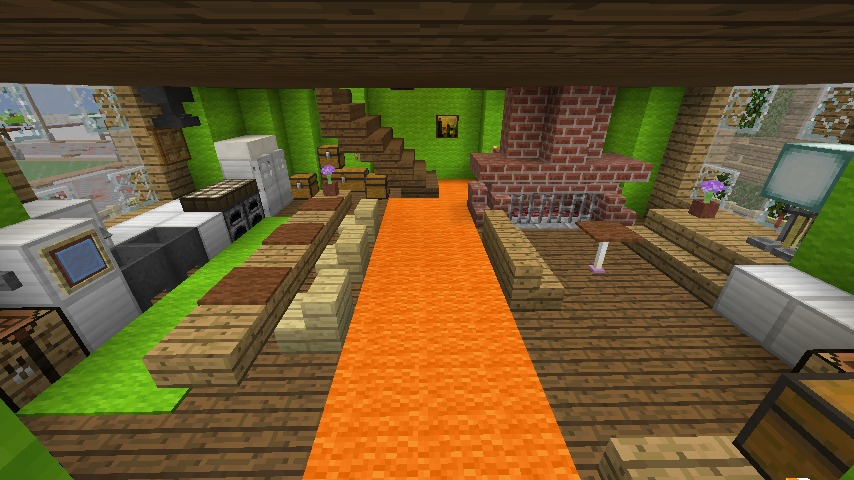 Minecrafterししゃもがマインクラフトでぷっこ村に小さなヘムルの家を建築してみる8